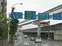 1国道176号線へ繋がる側道