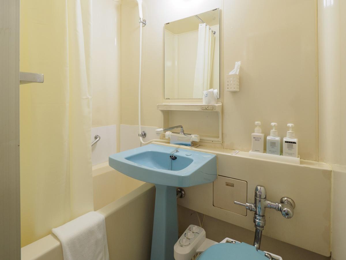 ダブル・ラージタイプのお部屋バスルーム